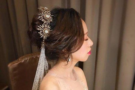 ~NEW~高雅女王+韓式低馬尾6/2千芬