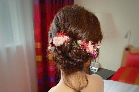 ~NEW~好媳婦低盤髮+ELSA公主辮7/7小麗