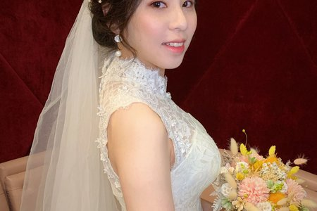~NEW~氣質女神低盤髮+大波浪7/21碧芸