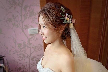 ~NEW~甜美編髮盤髮+明星大波浪8/31馨儀