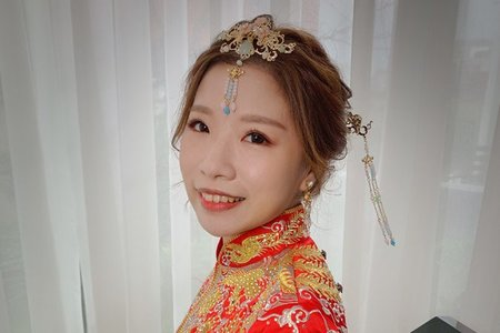 ~NEW~經典龍鳳掛+甜美高盤髮9/22亮亮