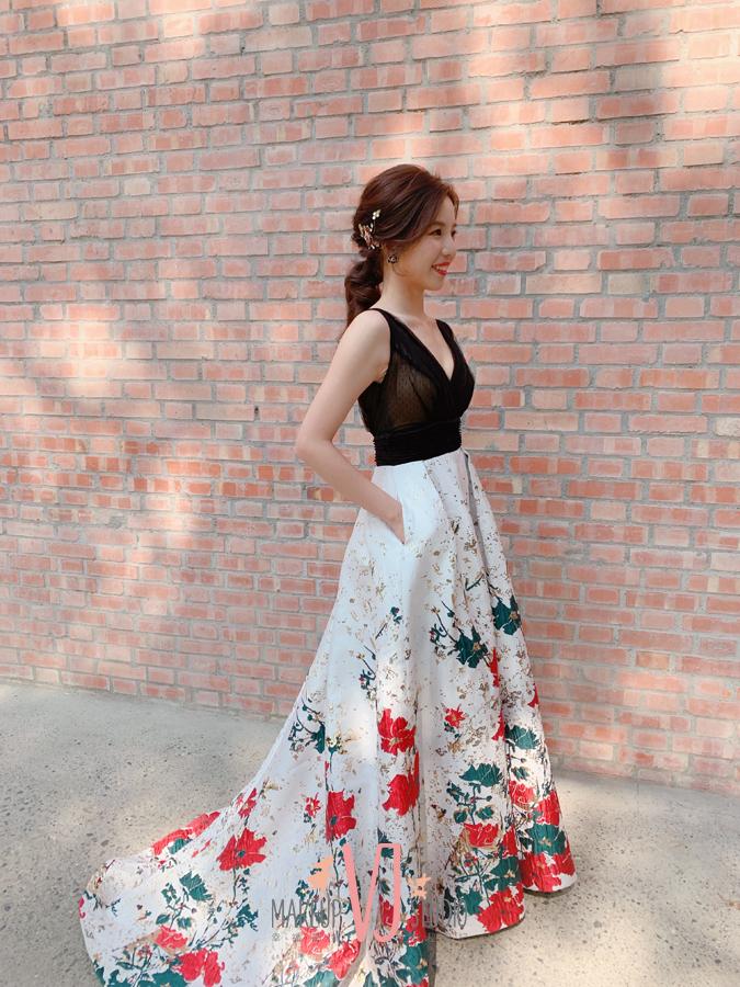 新娘造型,送客,送客禮服,新秘