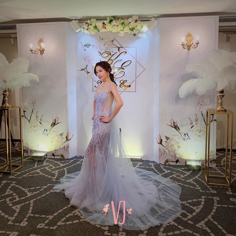 粉色系禮服,婚紗,禮服,挑選