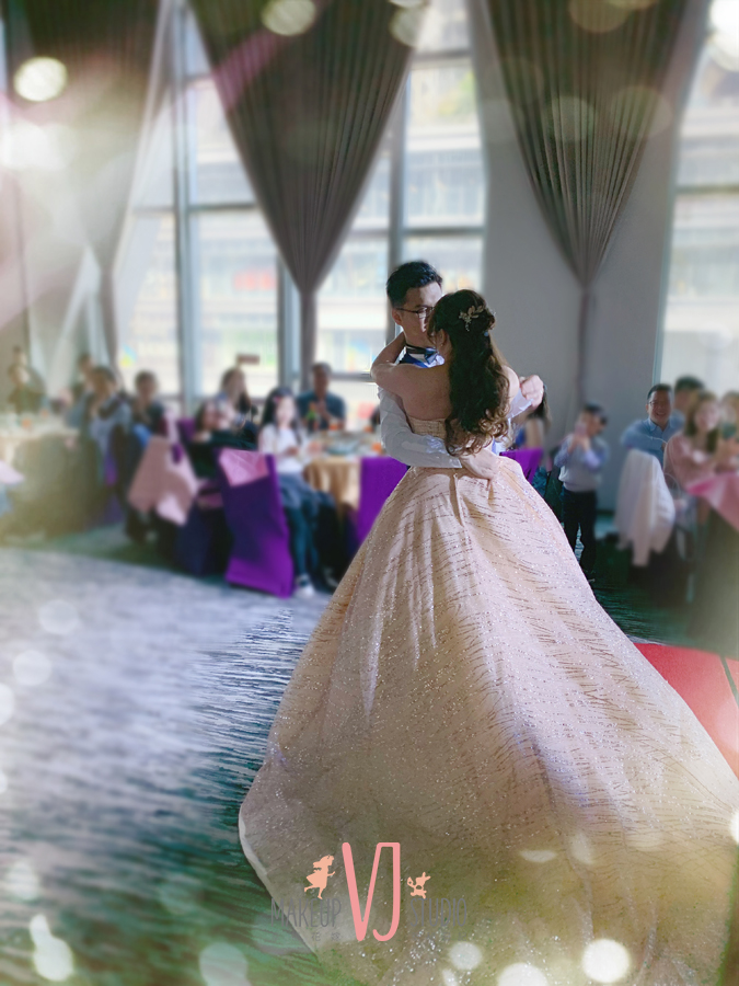 新娘造型,新秘,二進,敬酒