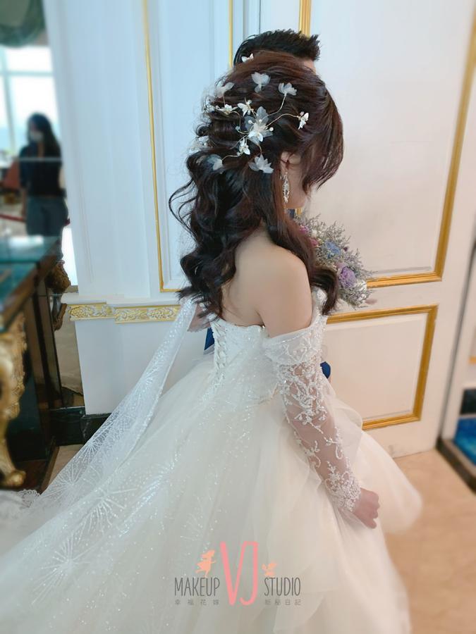 新秘,新娘造型,妝容,髮型
