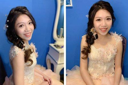 ~NEW~好媳婦盤髮+浪漫公主辮3/15郁琪