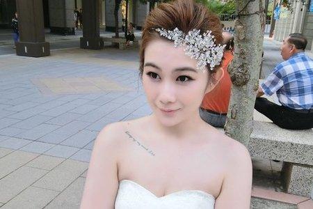 婚紗作品/白紗外景造型