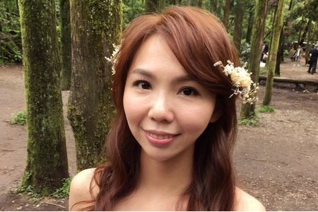 Bride Elaine韓式低馬尾/自然甜美