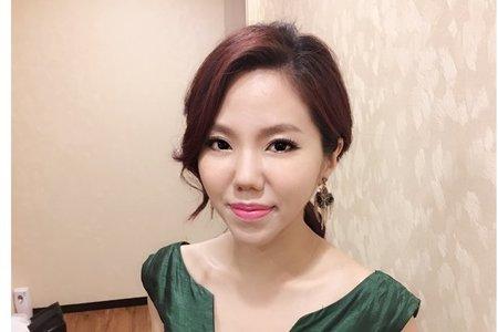 Bride蓓蓓/簡約自然/優雅高盤髮