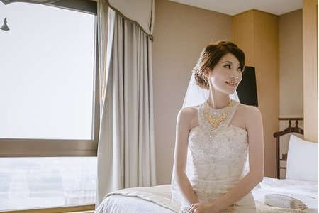【Vivi's Studio】婚禮造型~白紗經典