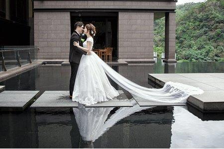 [bride]戶外證婚超浪漫!北投麗禧溫泉酒店 新娘Sammi
