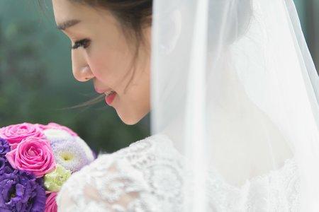 【bride】新娘首選~白紗迎娶造型