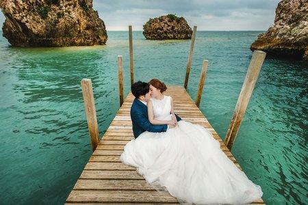 [沖繩婚紗]碧海藍天的幸福婚紗!海外婚紗 日本婚紗