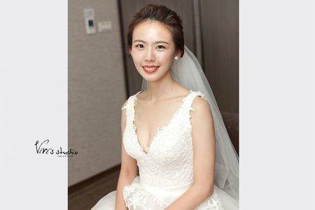 單眼皮大美女!有自信就能魅力十足的婚禮造型
