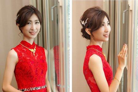 越看越美麗!溫婉氣質的好媳婦新娘造型