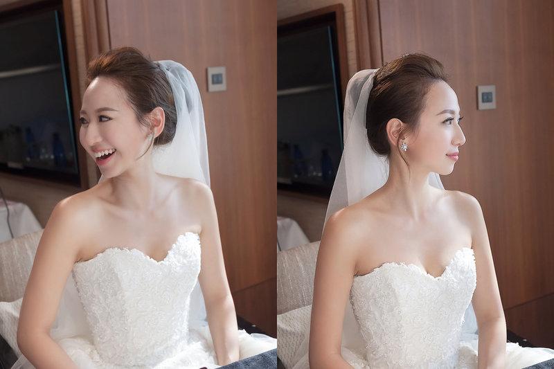 訂結婚同日晚宴新娘秘書作品