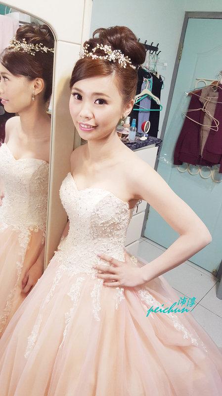 新娘~芷華(編號:190453) - 新秘沛淳hair & make up - 結婚吧