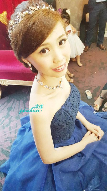 新娘~芷華(編號:190469) - 新秘沛淳hair & make up - 結婚吧