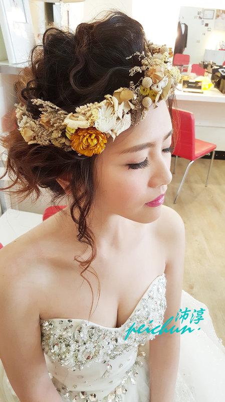 新娘~函(編號:190478) - 新秘沛淳hair & make up - 結婚吧
