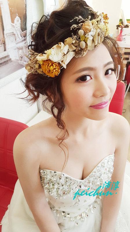 新娘~函(編號:190480) - 新秘沛淳hair & make up - 結婚吧