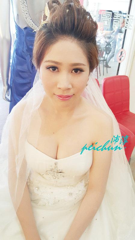 造型工作花絮(編號:190559) - 新秘沛淳hair & make up - 結婚吧