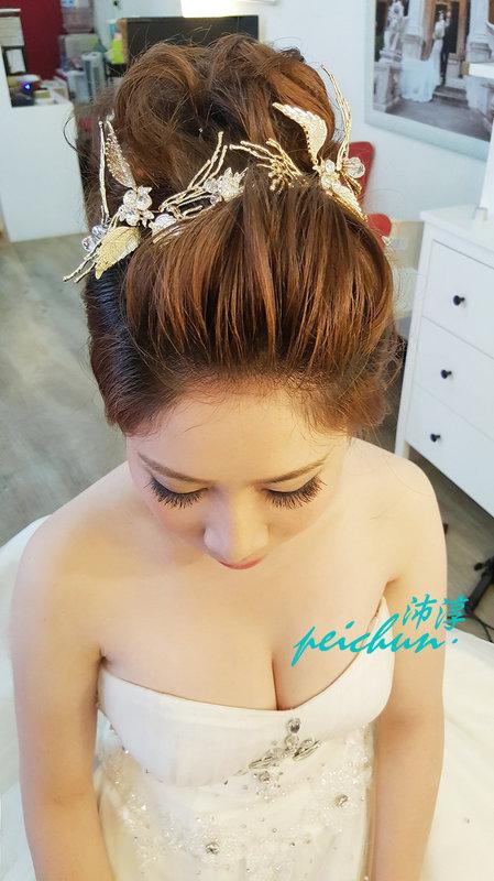 造型工作花絮(編號:190561) - 新秘沛淳hair & make up - 結婚吧