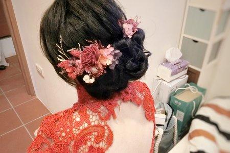文定旗袍造型