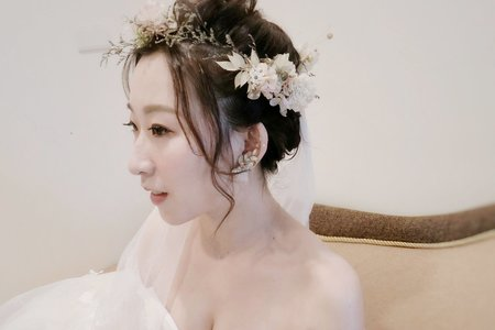仙仙花白紗造型