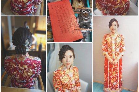 好美的龍鳳褂與verawang禮服