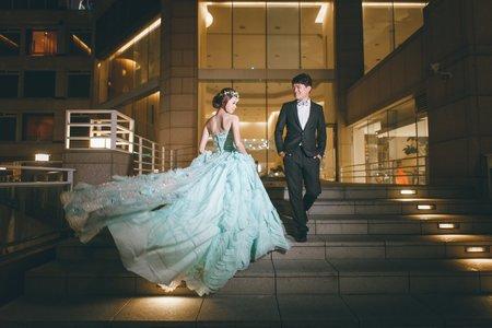 台中 清新溫泉 戶外證婚晚宴(宴客後類婚紗)