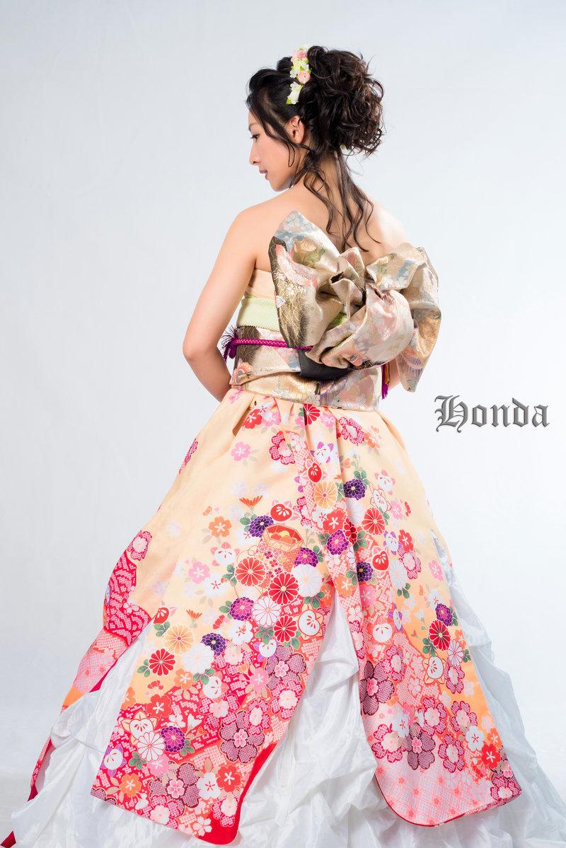和服婚紗/日式婚紗租借作品
