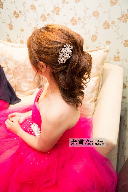 (編號:193367) - 若言新娘秘書韓式妝髮 - 結婚吧