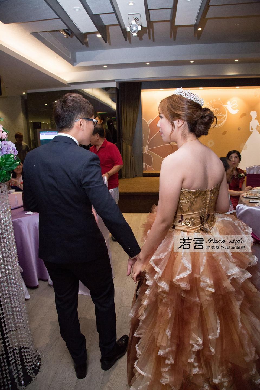 (編號:193372) - 若言新娘秘書韓式妝髮 - 結婚吧