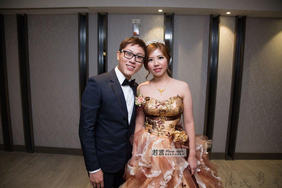 (編號:193374) - 若言新娘秘書韓式妝髮 - 結婚吧