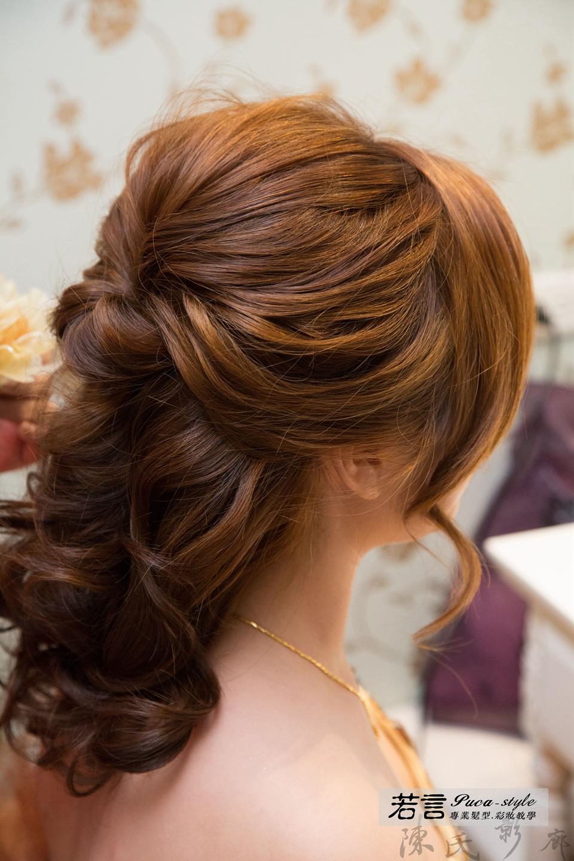 (編號:193375) - 若言新娘秘書韓式妝髮 - 結婚吧