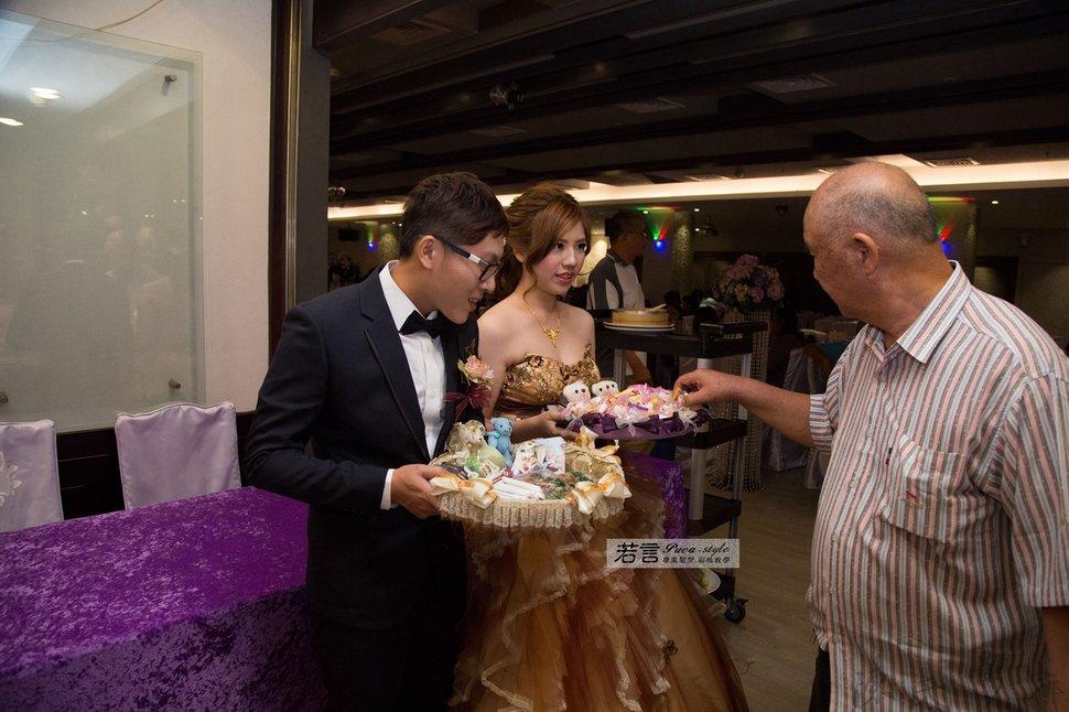 (編號:193376) - 若言新娘秘書韓式妝髮 - 結婚吧
