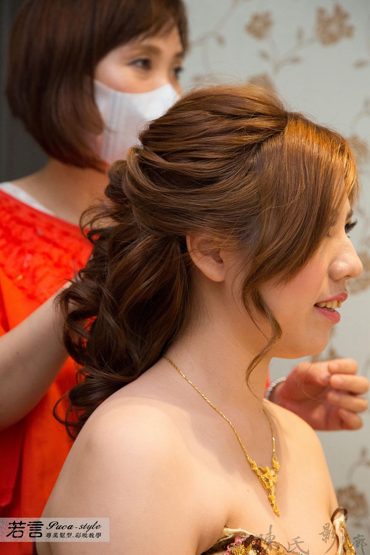 (編號:193377) - 若言新娘秘書韓式妝髮 - 結婚吧