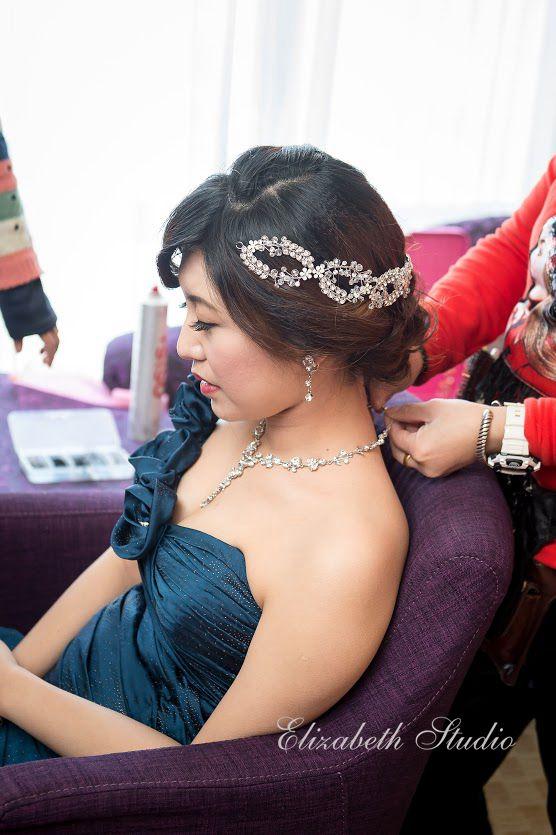 (編號:193545) - 若言新娘祕書韓式妝髮/新秘教學創意團隊 - 結婚吧