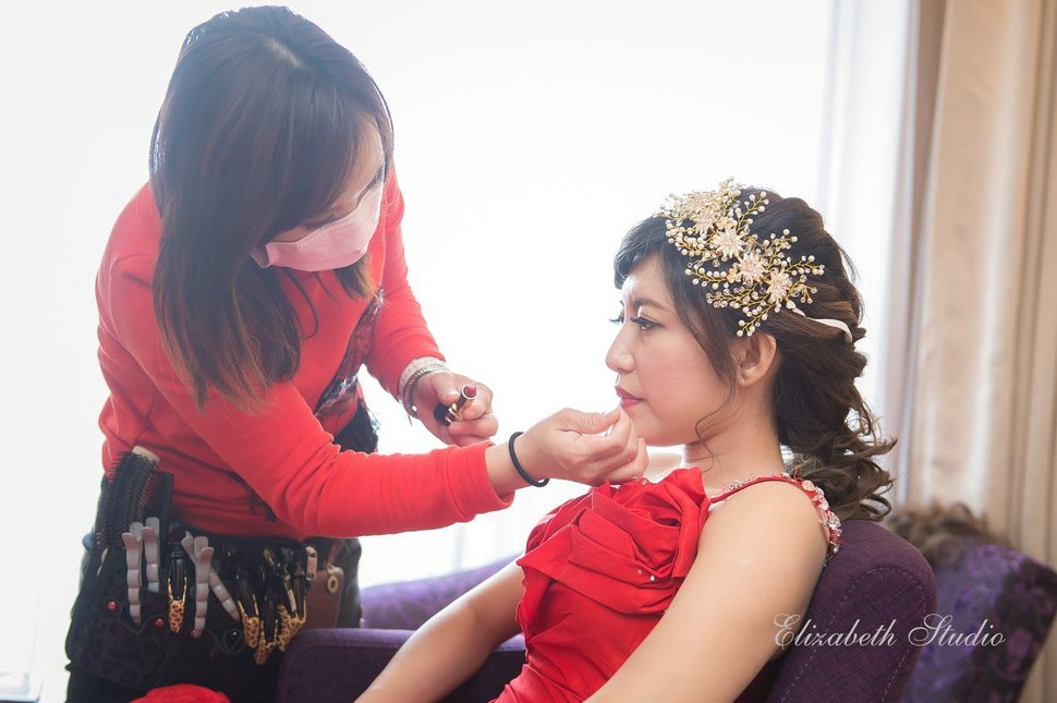 (編號:193549) - 若言新娘秘書韓式妝髮 - 結婚吧