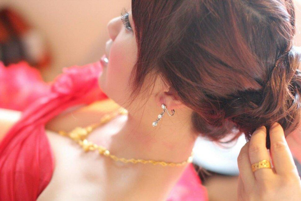 新娘呂欣結婚宴(編號:193608) - 若言造型團隊-噴槍底妝/陶瓷妝感《結婚吧》