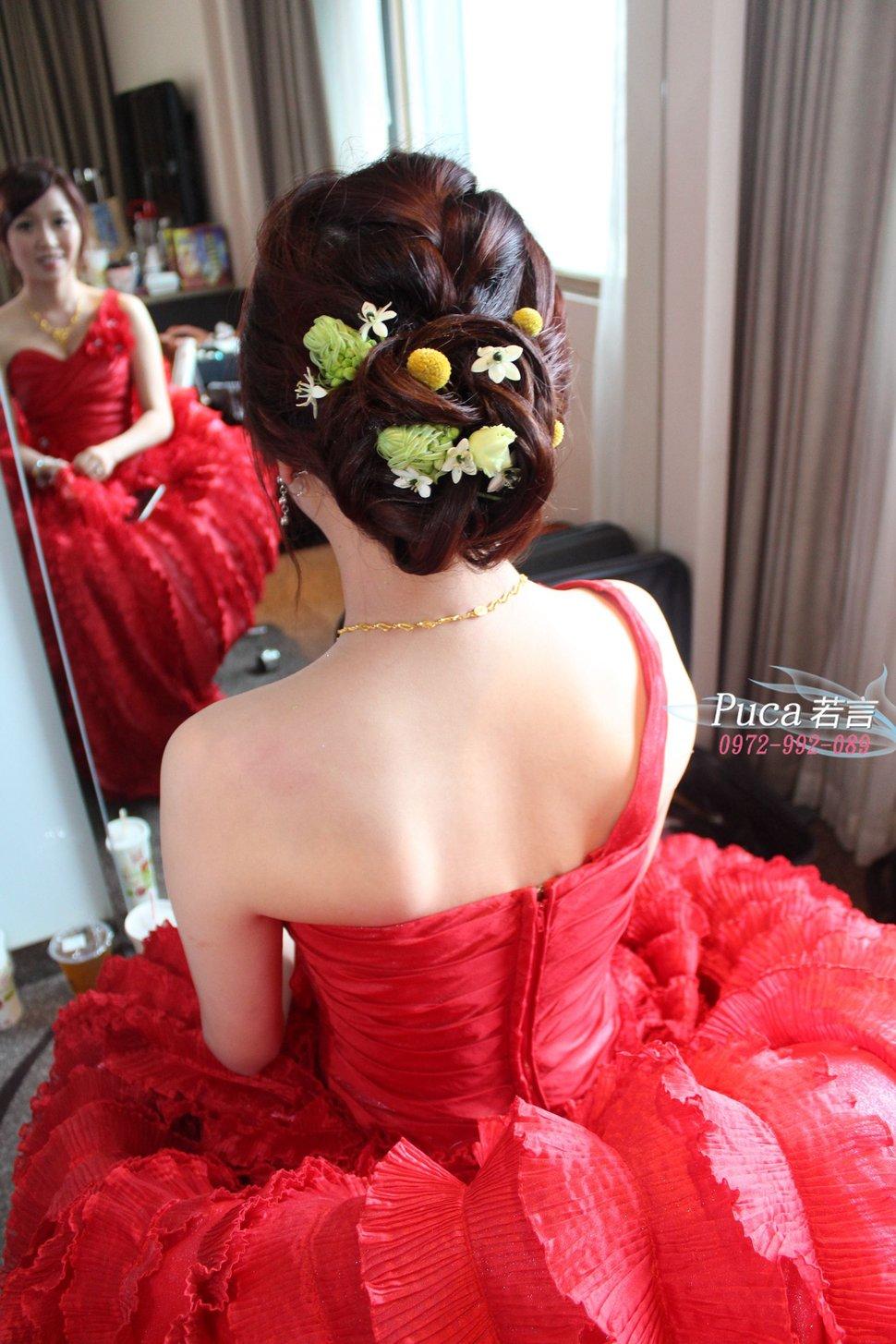 新娘呂欣結婚宴(編號:193612) - 若言造型團隊《結婚吧》
