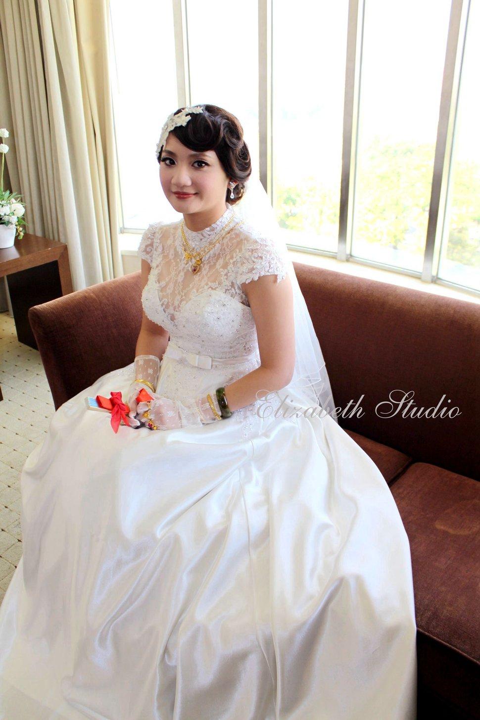 新娘玉如結婚宴(編號:193621) - 若言造型團隊-噴槍底妝/陶瓷妝感《結婚吧》