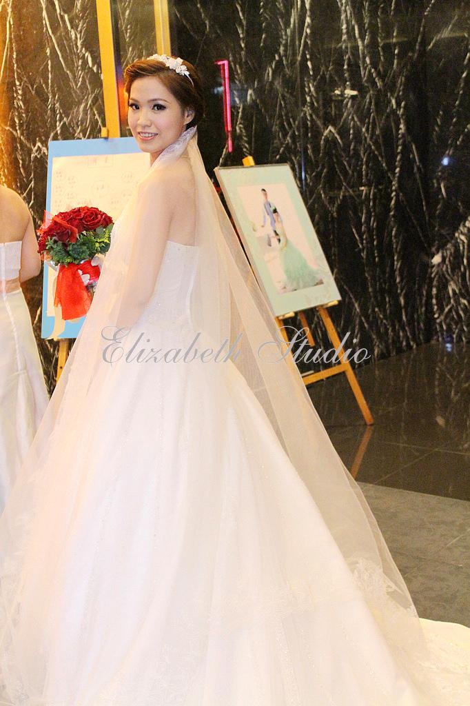 新娘靜宜婚宴(編號:193701) - 若言新娘秘書韓式妝髮 - 結婚吧
