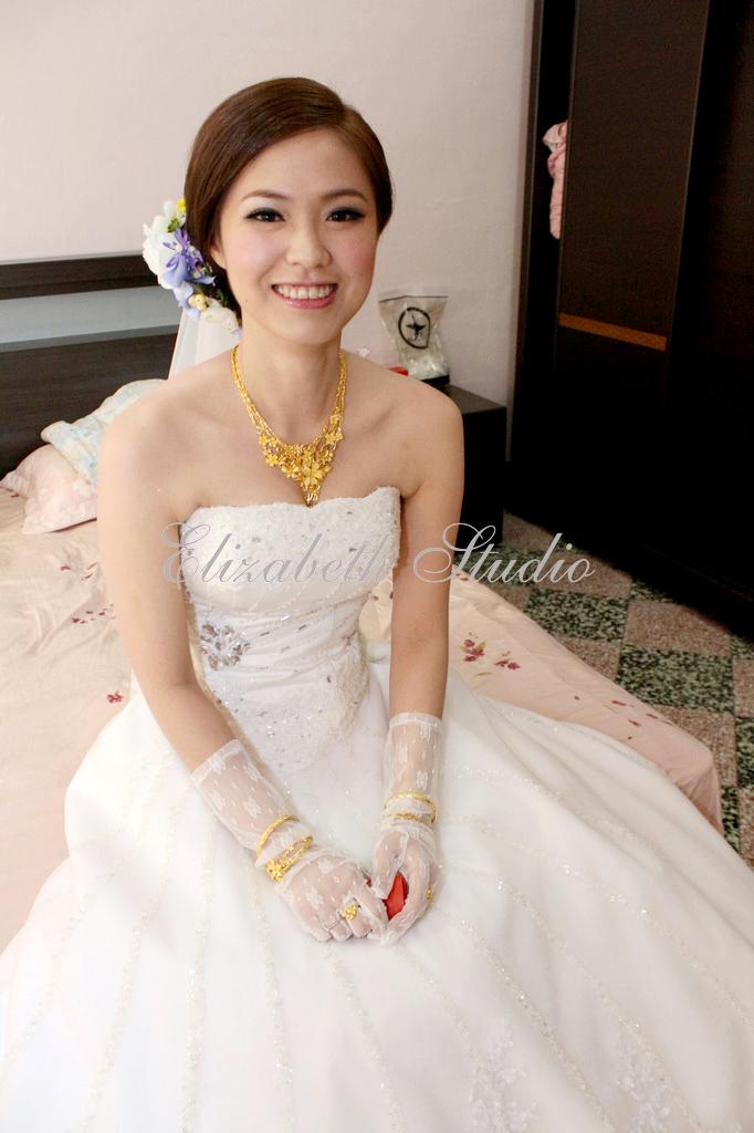 新娘靜宜婚宴(編號:193703) - 若言新娘祕書韓式妝髮/新秘教學創意團隊 - 結婚吧