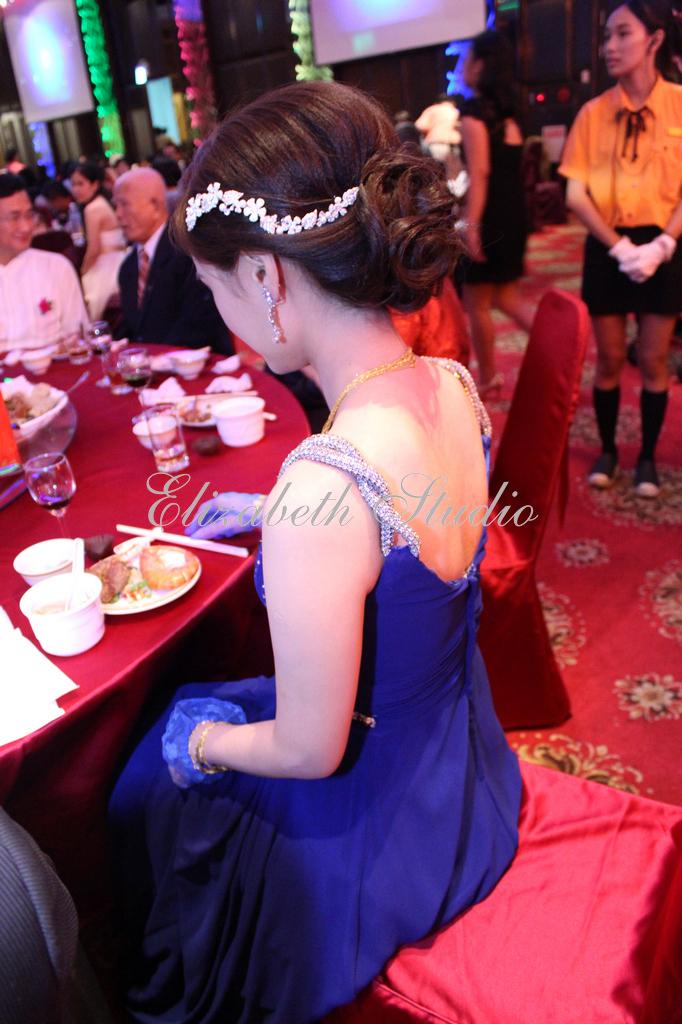 新娘靜宜婚宴(編號:193706) - 若言新娘秘書韓式妝髮 - 結婚吧
