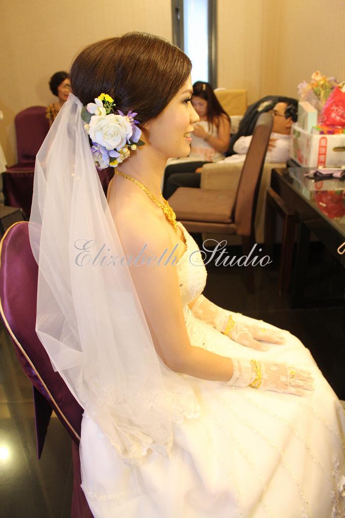 新娘靜宜婚宴(編號:193707) - 若言新娘秘書韓式妝髮 - 結婚吧