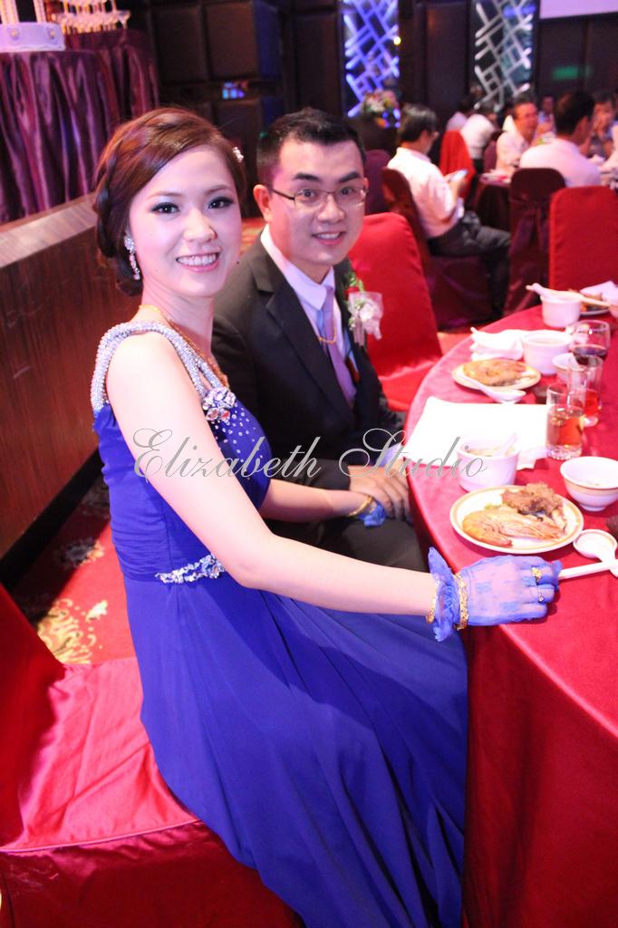 新娘靜宜婚宴(編號:193709) - 若言新娘秘書韓式妝髮 - 結婚吧