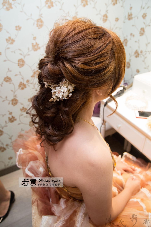 南臺灣新娘秘書韓式(噴槍)新秘團隊(編號:193944) - 若言新娘秘書韓式妝髮 - 結婚吧