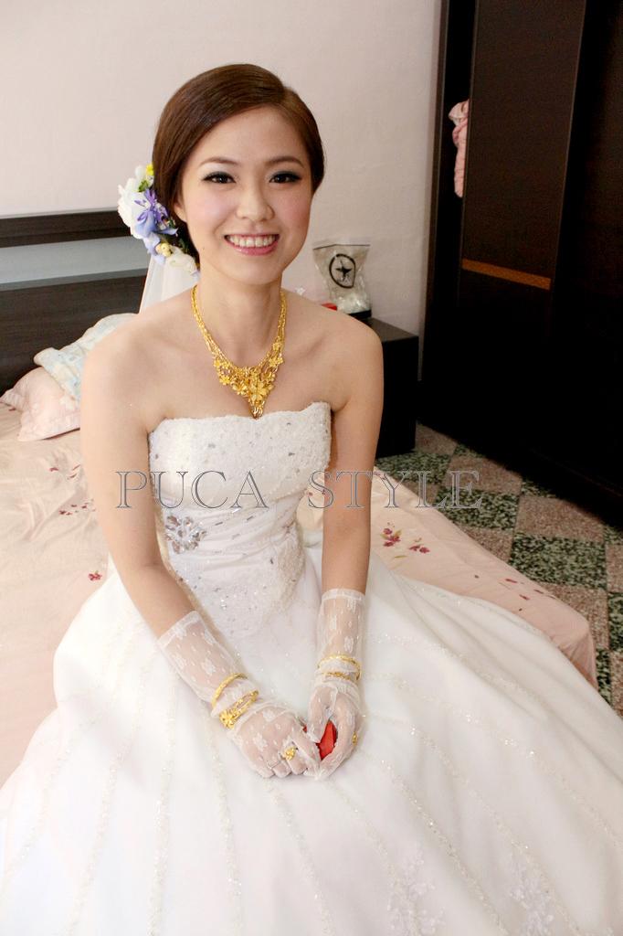 南臺灣新娘秘書韓式(噴槍)新秘團隊(編號:194397) - 若言新娘秘書韓式妝髮 - 結婚吧