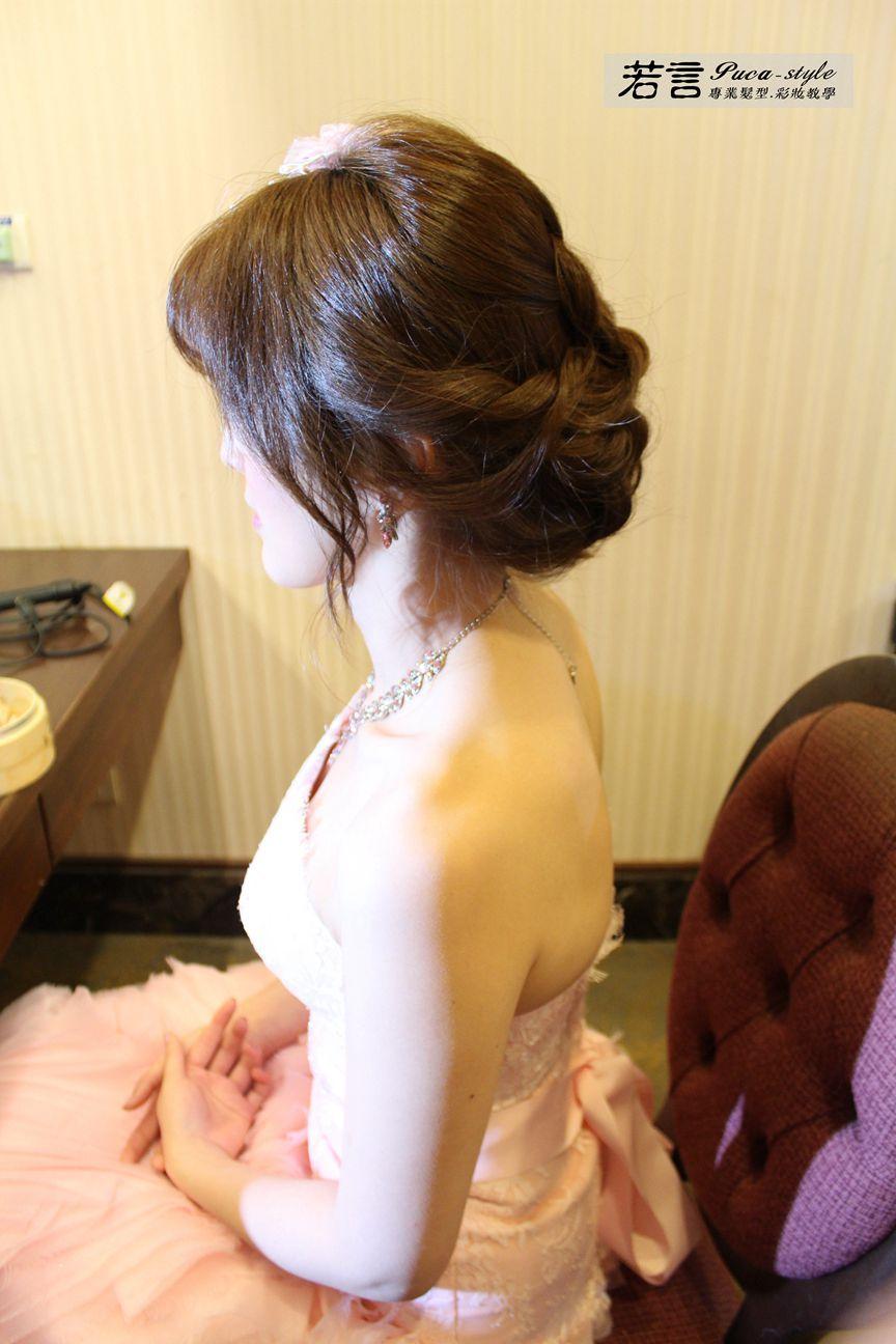 南臺灣新娘秘書韓式(噴槍)新秘團隊(編號:194454) - 若言新娘秘書韓式妝髮 - 結婚吧